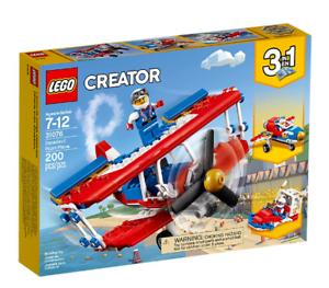 Lego Creator 3 in 1 31076 Daredevil Stunt Plane ~ NEW ~