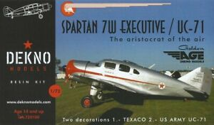Spartan-7W-Executive-UC-71-DEKNO-models-1-72-resin-kit