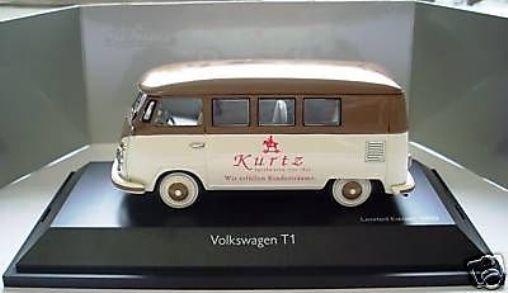 Schuco VW T1 Bulli van Kurtz Juguetes Stuttgart promocional 1 43 Nuevo Solo 250