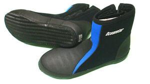 3mm-Diving-zip-neoprene-booties-US-size-11
