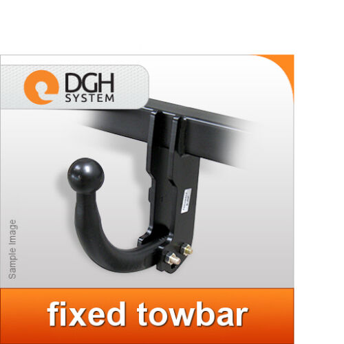 Fixed towbar hook swan neck BMW E90 saloon 2005//2012