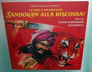 La tigre è ancora viva Sandokan alla riscossa G. e M. De Angelis Ost Vinile Lp