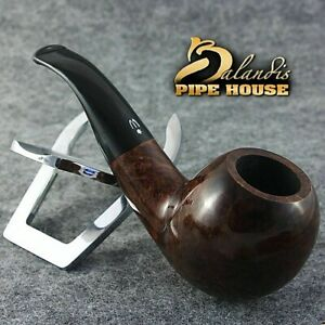Grandios-H-WOROBIEC-No-74-BROWN-APPLE-Original-Briar-Pfeife-Tabakpfeife-BRUYERE