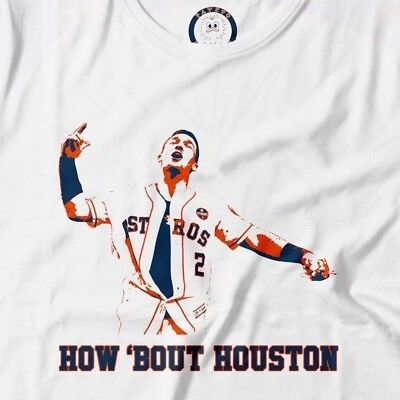 the latest 80c63 e9c71 Alex Bregman How Bout Houston Astros Shirt M White | eBay