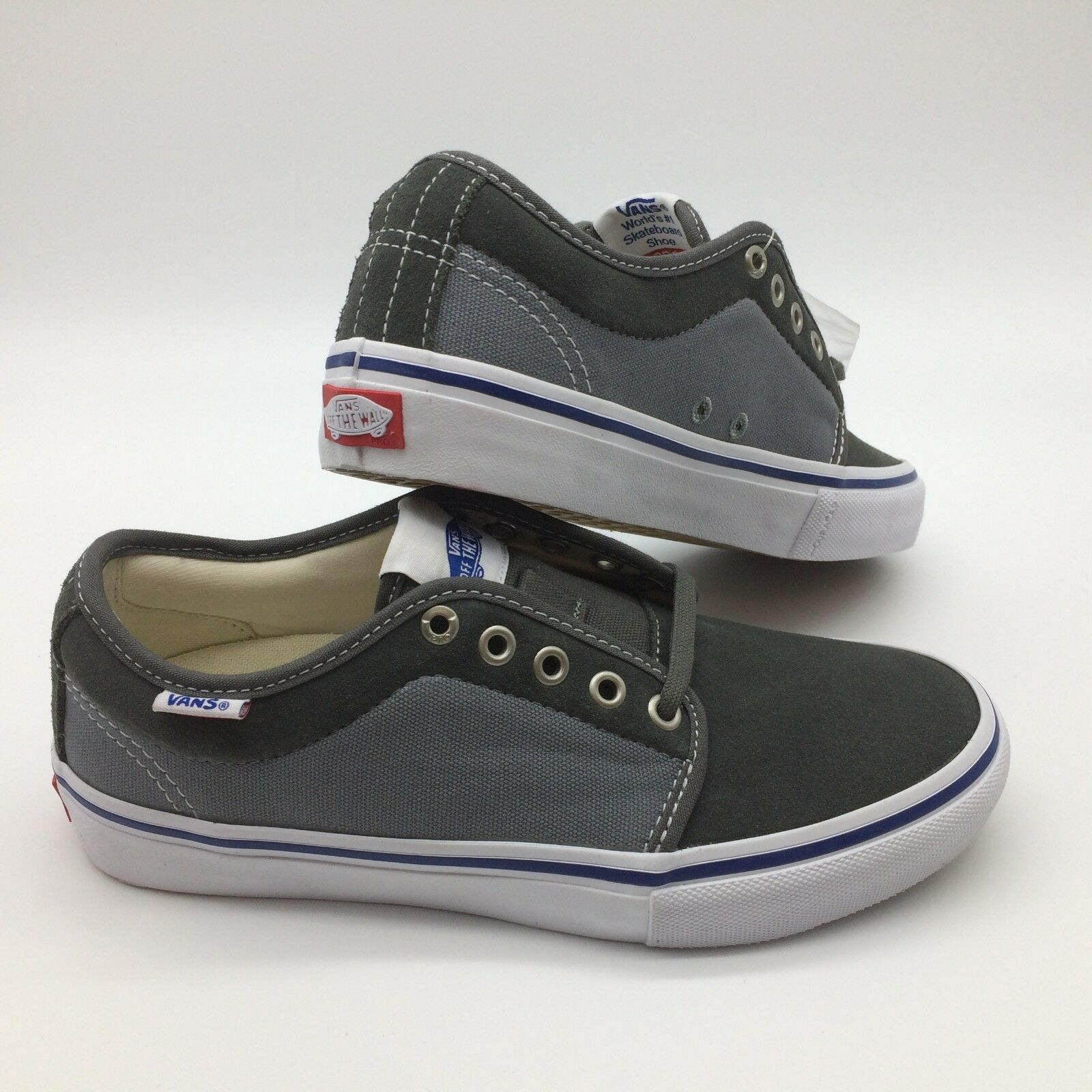 Vans Men's shoes  Chukka Low Pro  -- (Two-Tone) Gunmental Monmnt
