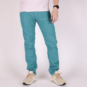 Levi-039-s-511-Slim-Fit-Premium-Teal-Electric-Grun-Herren-Jeans-32-32