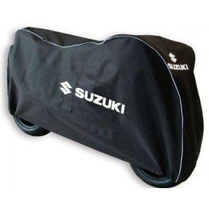 Motorrad Abdeckplane XL für Suzuki GSX-R 1000// R// 750// 600 schwarz