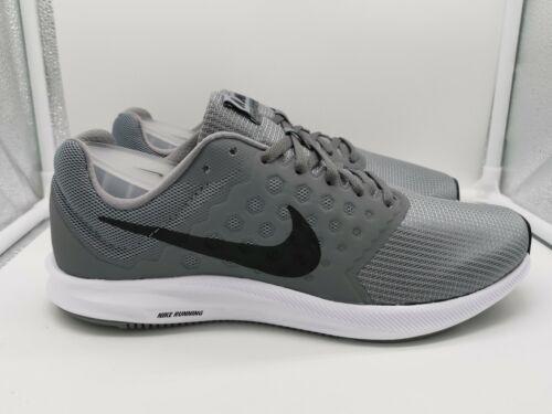 Nike Downshifter 7 UK 8 Stealth Grey Black Cool Grey White 852459-009