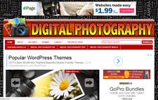 Make Money With Learn Digital Photography Affiliate Website Free Hosting Setup