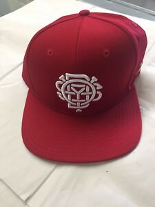 Image is loading Oddysey-Bmx-Red-Hat-Primo-Cult-SnapBack-Hat- a405237f26d