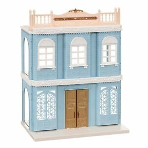 Sylvanian Families delicious restaurant light blue Calico Critters Town series