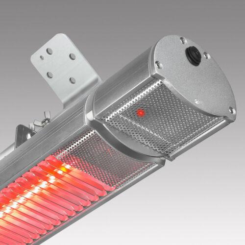 EUROM Terrassenheizung Heizstrahler Golden Comfort 2200 RCD mit Fernbedienung