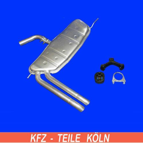 1.8 TFSI  Endschalldämpfer 5P5,5P8 Seat Altea XL Montagesatz