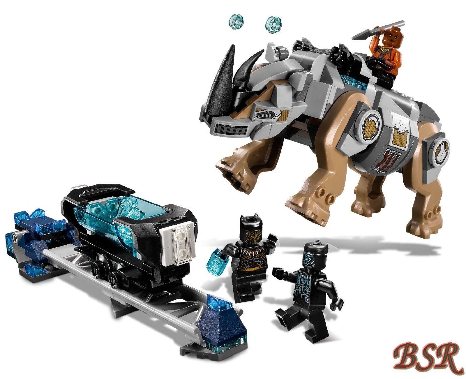 LEGO® Marvel Super Heroes  schwarz schwarz schwarz Panther 76099 & 76100 & 0.- Versand & NEU OVP a08cc0