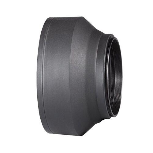 67 MM 3-IN-1 parasol goma plegable para  Rebel EOS; Nikon D3300 D5200 D510T4T9