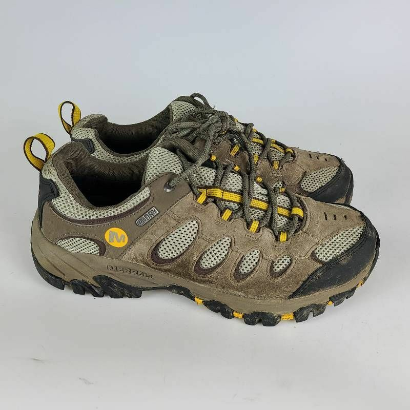 Merrell Mens Moab 2 Boulder Hiking Shoes Brown J227174C Lace Up Leather 8.5 M