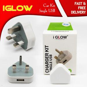 iGlow-2-1A-AMP-Fast-Single-USB-Charger-UK-Mains-Wall-Plug-Adapter-3-Pin