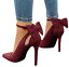 Women-Ladies-High-Heels-Pointed-Toe-Pumps-Ankle-Buckle-Strap-Dress-Shoes-Sandals thumbnail 9
