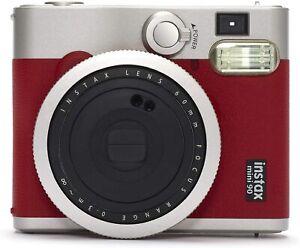 FOTOCAMERA ISTANTANEA DIGITALE FUJIFILM INSTAX MINI 90 NEO CLASSIC RED ROSSA