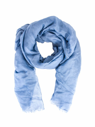 MAX MARA Women/'s Macao Solid Silk /& Linen Scarf $365 NWT