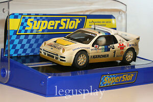 Slot-SCX-Scalextric-Superslot-Ford-RS200-N-1-Rallycross-1991-Martin-Schanche
