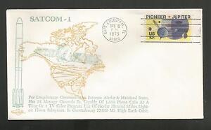 Initiative Satcom-1 Décembre 12,1975 Cape Canaveral Orbit Couvertures