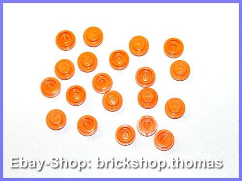 - 4073 Plate round 1 x 1 NEU // NEW Lego 20 x Platte rund Orange