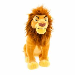Disney-Authentic-The-Lion-King-Mufasa-Plush-Toy-Doll-Figure-14-034-NWT