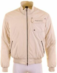 NORTH-SAILS-Mens-Padded-Jacket-Size-42-XL-Beige-Nylon-ML08