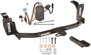 trailer hitch & wiring kit fits 2010 - 2011 honda accord crosstour all  models | ebay  ebay
