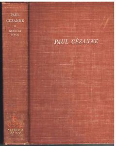 Paul-Cezanne-by-Gerstle-Mack-1935-1st-Ed-Vintage-Book