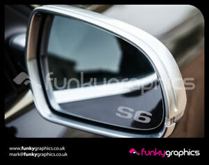 AUDI-S6-SMALL-LOGO-MIRROR-DECALS-STICKERS-GRAPHICS-x3-IN-SILVER-ETCH