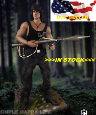 1/6 Sylvest Stallone Rambo First Blood full set w/ stand Very Hot Toys IN STOCK