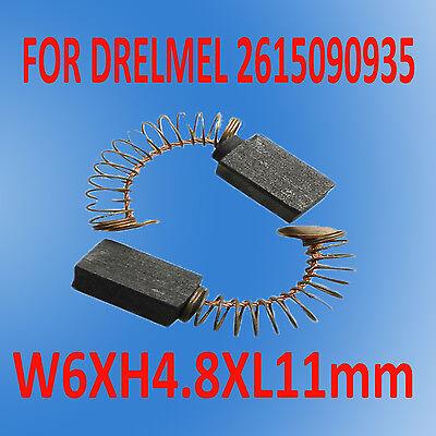 5 pair Genuine DREMEL Carbon Motor Brushes Set 90935 Brush 732 Moto Flex Shaft