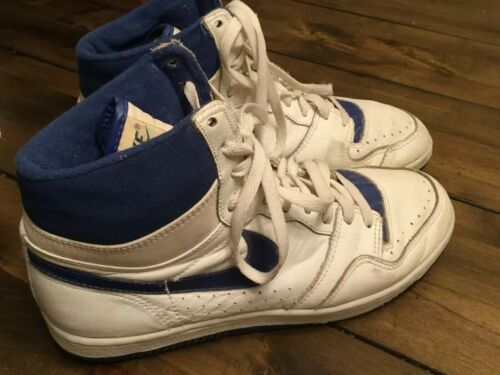 Force vintage anni 5eac5d28c1f1511d513db14f24eb56870 Autentico Nike Court 10 '80 blu bianco AL435jR