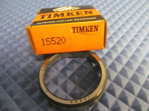 NOS Timken Inner Race 15520 Buy it Now=2 pcs Free Shipping