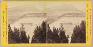ALLEMAGNE-Tyrol-Brennerbahn-Patscher-Hohen-Photo-Stereo-Vintage-Albumine-c1870