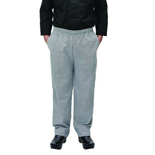 Winco UNF-4KXL, Chef Pants, Houndstooth, XL