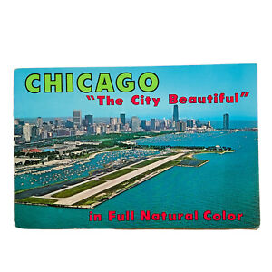 """Vintage 1964 Chicago """"The City Beautiful """" Photo Travel Brochure Guide Booklet"""