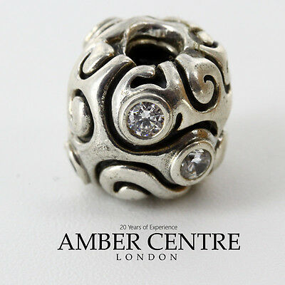 Pandora Silver White Zirconia Large Day Dream Charm - 790869cz Rrp£99!!!