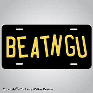 Jeepers-Creepers-Creeper-Truck-BEATNGU-Replica-Prop-Aluminum-License-Plate-Tag