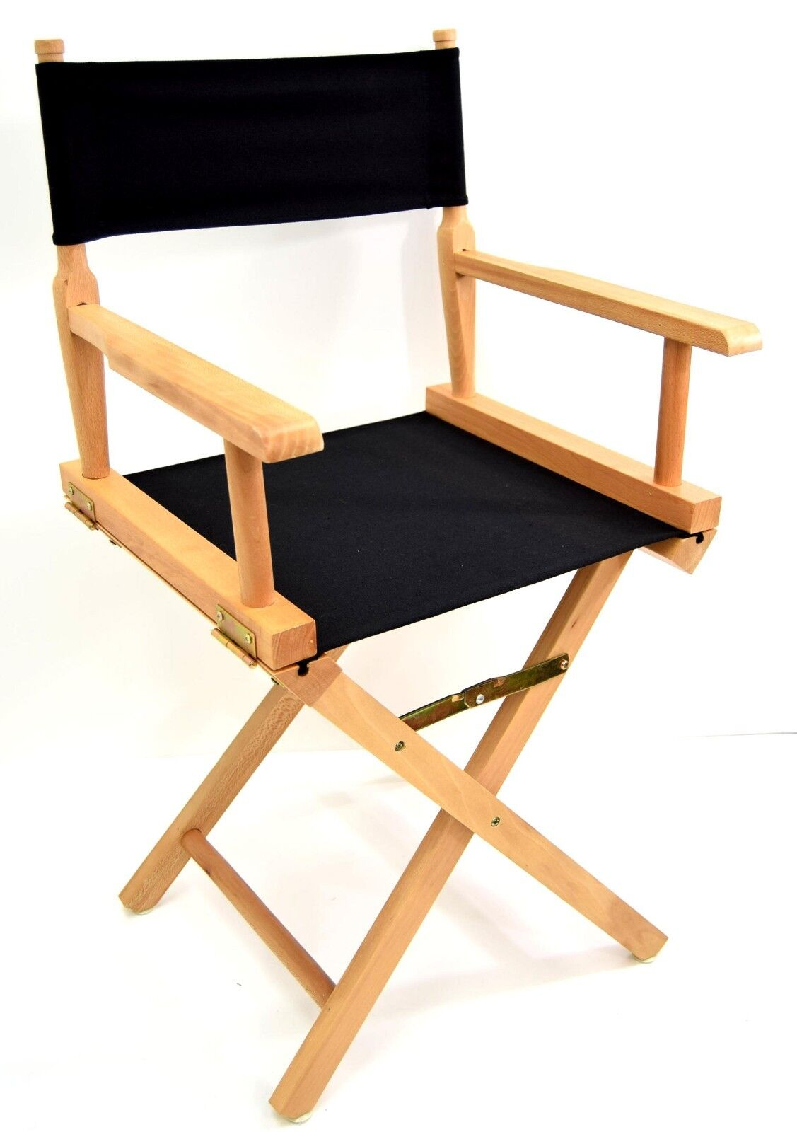Folding Wooden Director Chair High Quality Made In  Canvas + Wood Seat