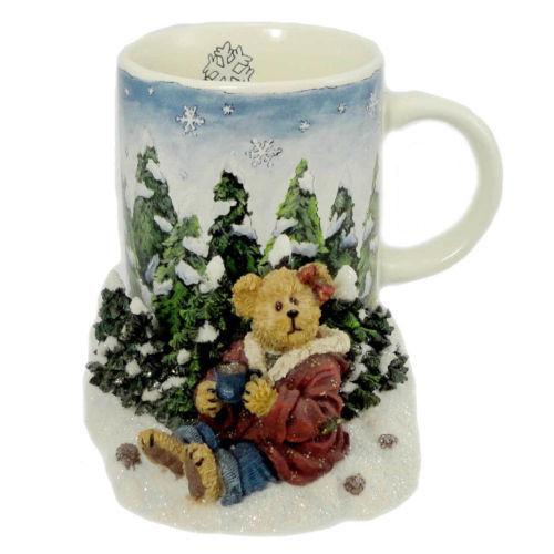 BOYDS BEAR AT HOME COFFEE MUG KRYSTLE COCOA TIME   #390527 NWT!!