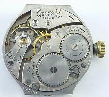 Vintage Waltham Men's Wristwatch Movement - Grade 561 - Parts / Repair