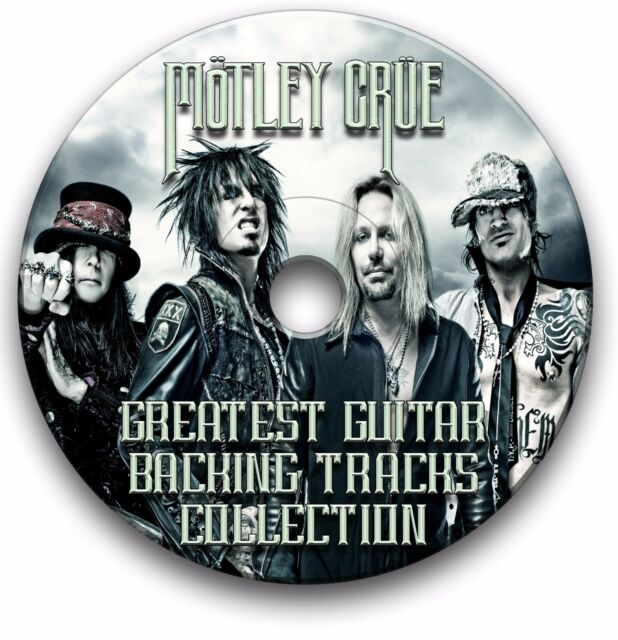 MOTLEY CRUE ROCK GUITAR BACKING TRACKS COLLECTION JAM TRACKS