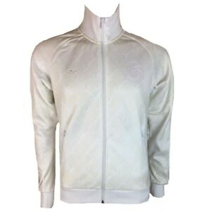 New York Cosmos Homme Taped Veste De Survêtement Rétro Football Umbro Blanc Football Top 							 							</span>