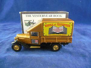 CODICE-2-Matchbox-Yesteryear-yy62-1932-FORD-modello-AA-CAMION-3-ed-LIBRO