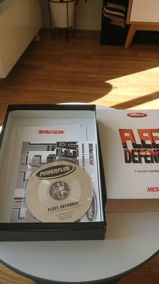 Fleet defender f-14, til pc, simulation