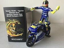 Minichamps Rossi 2005 Yamaha w-figurine Donington LE 720 pcs