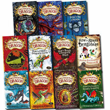 How to Train Your Dragon 11 Books Collection Set By Cressida Cowell-How to spaek